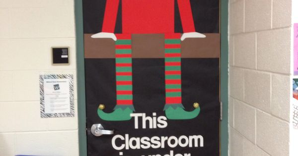 Elf On The Shelf Classroom Door Decoration Quot This