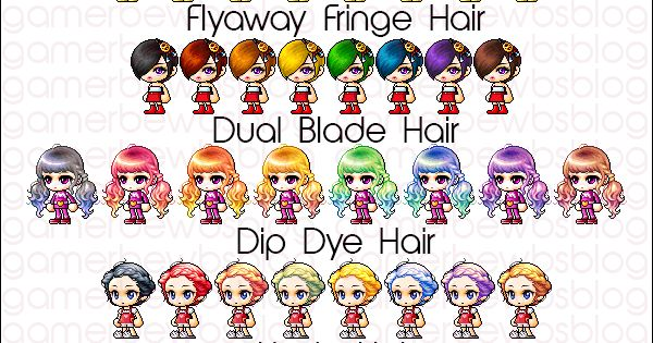Hair Style Voucher Maplestory 2: GMS Royal Hair And Face – August 2013
