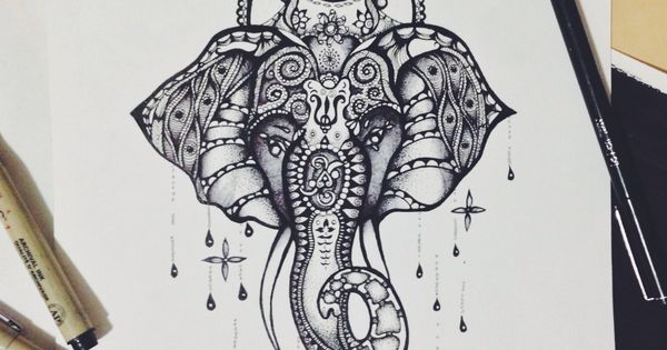 I love love the elephant and lotus flower combo. Just not sure