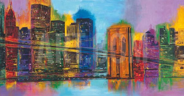 HELLO NYC By Brian Carter, painting