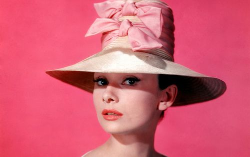 #Fashion Vintage Hat - Audrey Hepburn