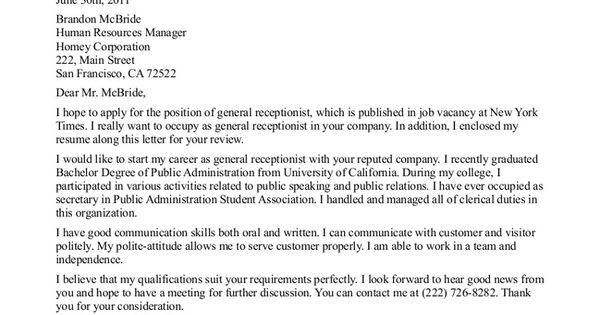 Http://jobresumesample.com/456/receptionist-cover-letter