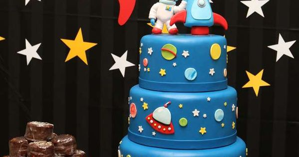 Space Astronaut Birthday Birthday Party Ideas  Compleanno, Grandioso ...