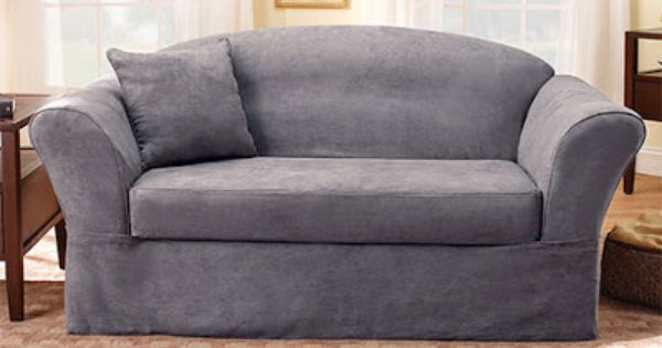 At Sure Fit We Know That All Furniture Is Not Made Alike Soft Suede In A Variety Of Slipcover Styles Loveseat Slipcovers Furniture Slipcovers Slipcovers