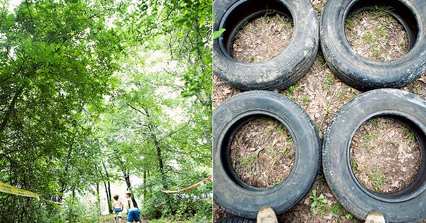Awesome birthday idea for little boys - mud run obstacle course