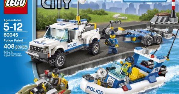 Lego City Police 60045 Police Patrol Amazon Toys Games Kai Idee Lego Lego
