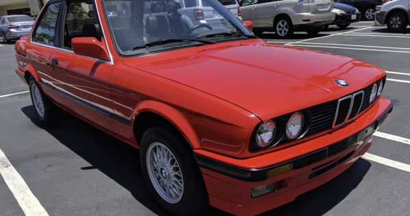 No Reserve 1990 Bmw 325is 5 Speed Bmw Sport Seats Classic Cars Online