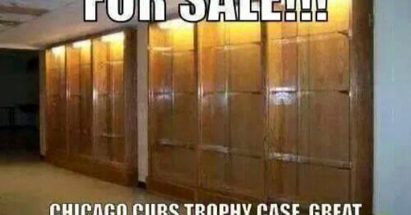 for sale chicago cubs trophy case st louis cardinals fan pinterest for sale cases and. Black Bedroom Furniture Sets. Home Design Ideas
