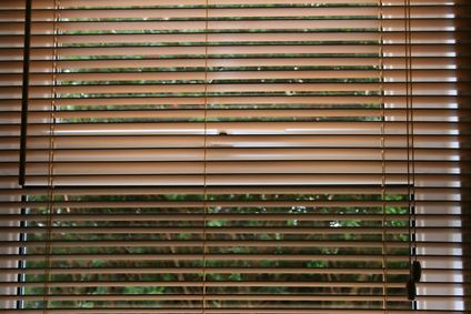 Art Projects Using Venetian Blind Slats Ehow Wooden Window Blinds Clean Window Blinds Bamboo Blinds