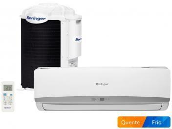 Ar Condicionado Split Springer 12000 Btus Quente Frio Filtro