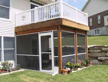 Underneath Deck Design Ideas Pictures Remodel And Decor Outdoor Screen Room Patio Under Decks Decks Backyard