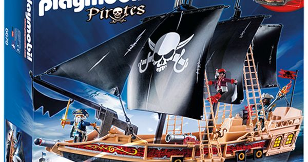 piratskepp fr n playmobil 6678 br leksaker. Black Bedroom Furniture Sets. Home Design Ideas