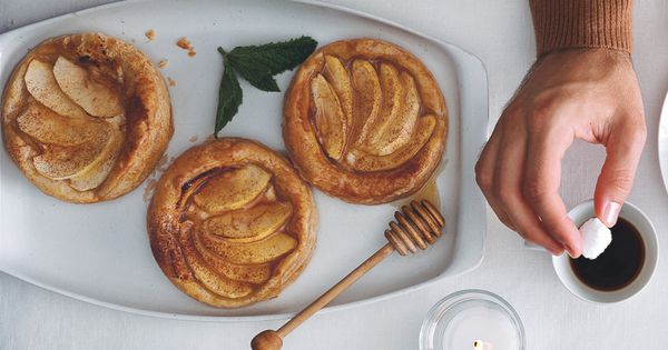 Apple, Goat Cheese, and Honey Tartlets   Recipe