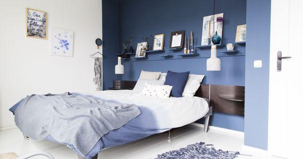 Karwei aflevering 8 door n muur in een kleur te verven trek je alle aandacht wonen - Kleur schilderen master bedroom ...