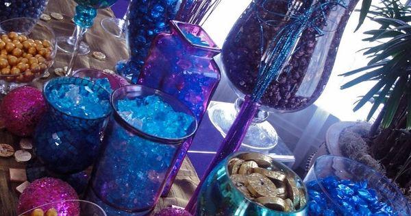 Galaxy Themed Candy Bar Ideas Galaxy Wedding Pinterest