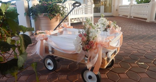 She Lost Her Purse at a Concert and the Rest is History ... |Flower Girl Wagon Wedding Party