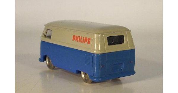 lego 1 87 volkswagen vw bus t1 blau grau philips. Black Bedroom Furniture Sets. Home Design Ideas