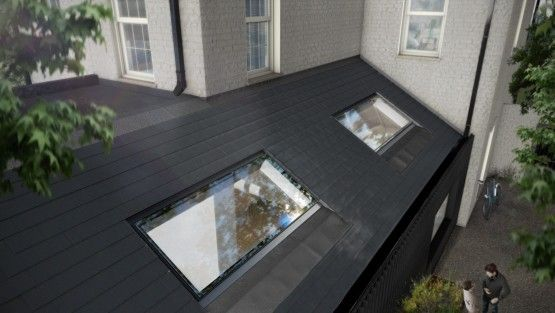 Pitchglaze In Plane Roof Window For Pitched Roofs Roof Window Roof Light Roof Skylight