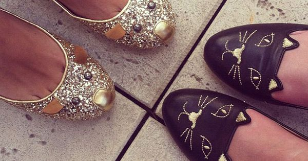 Lola's Personal style: Marc Jacobs Mouse and Charlotte Olympia Cat