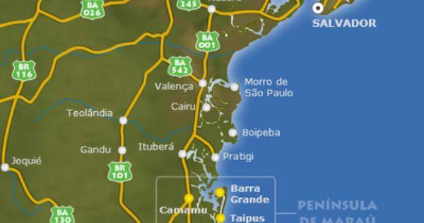Playas De Itacare En Brasil Playas Mas Bellas Brasil Playa Sao
