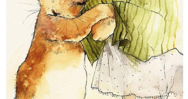 Vintage Children's Illustrations / Mori Girl Reminds me of Peter rabbit!