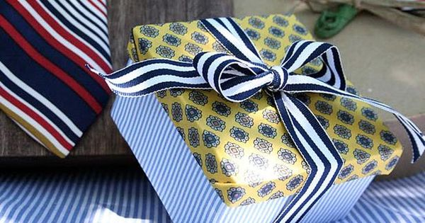 Wrapping Ideas for Father's Day Gifts