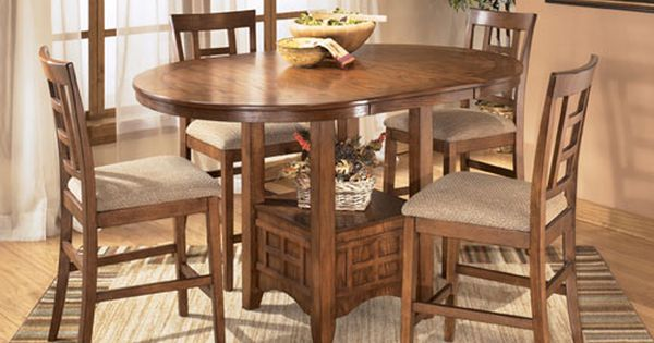at rent a center the cross island 5 piece dining room set offers