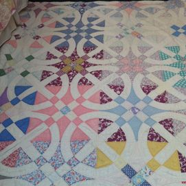 Something Old Something Interesting Circle Quilts Star Quilt Patterns Vintage Quilts
