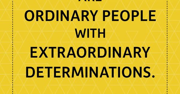 real leaders are ordinary people with extraordinary determination wallpaper