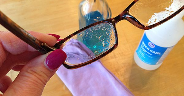 make your own eyeglass cleaner sprays and glasses