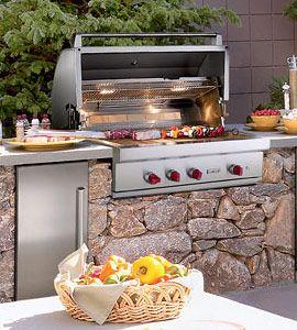 One Day Outdoor Kitchen Appliances Outdoor Kitchen Outdoor Bbq Kitchen