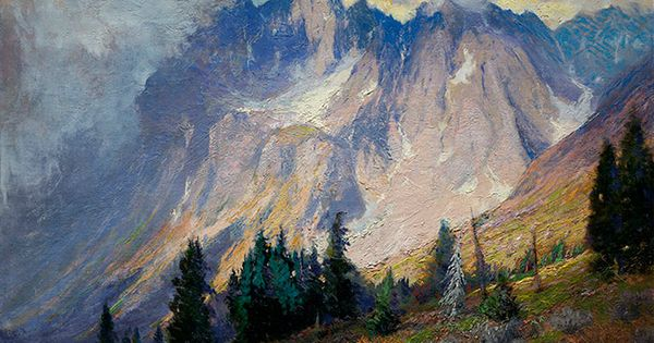 Rocky Mountain Majesty: The Paintings of Charles Partridge Adams ColoradoCreates DenverArtMuseum