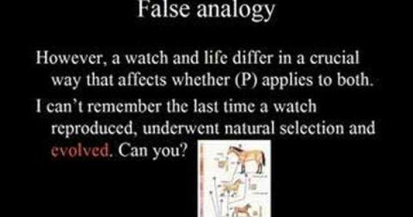 False Analogy Logical Fallacies How To Apply Analogy