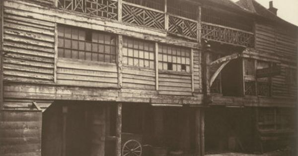 King S Head Inn Yard Southwark 1881 In 2020 With Images