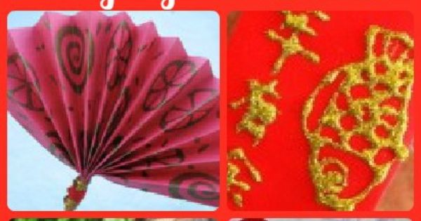 A collection of Chinese New Year craft ideas.