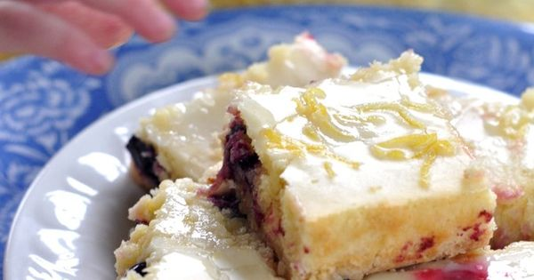 Lemon Blueberry Bars With Coconut Crust - bebehblog | Sweetness ...