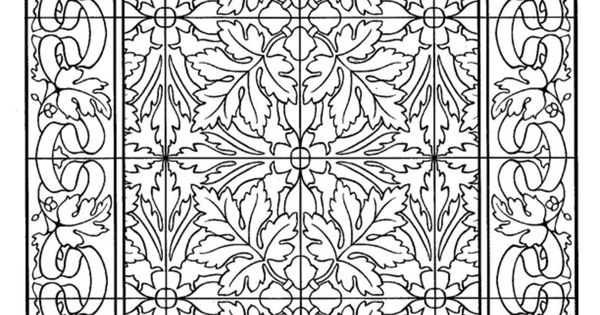 Dover Decorative Tile Coloring Book | Dover Coloring ... - photo#11