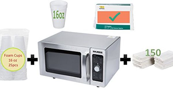 Special Offer Solwave Stainless Steel Commercial Microwave With Dial Control 120v 1000w Sale Price For A Limited Microwave Special Offer Cool Things To Buy