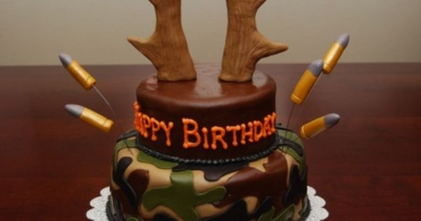 A version of this for a grooms cake The Camo Cake by