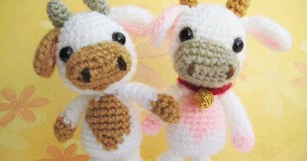 Pdf amigurumi crochet pattern cow ,welcome to sell the finished item ...