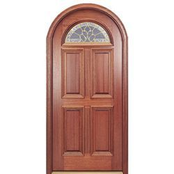 Shop For Mai Doors Qa203 Rt Arch And Round Top Wood Door Pre Hung Mahogany Round Top Wi Molduras De Ventanas Molduras De Ventanas Exteriores Puertas De Madera