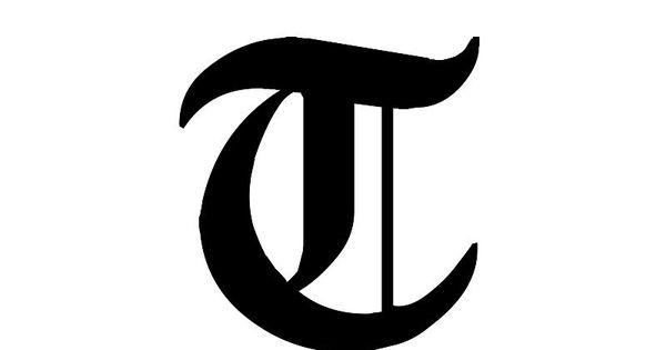 Alphabet Letter Gothic T Letter Projects Pinterest