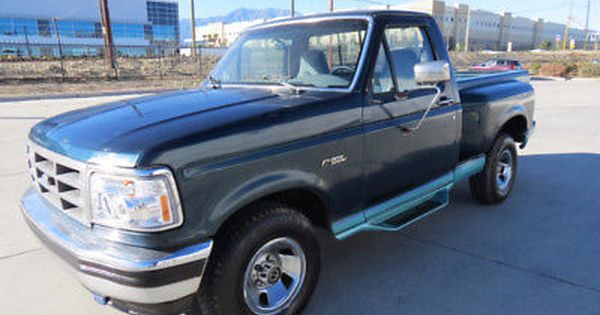 1995 Ford F 150 Ford F150 Flare Side Pick Up Truck Dual Fuel Tanks