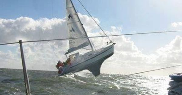 Rough weather sailing - for real? | Action sailing | Pinterest | Weather, Boating and Ships