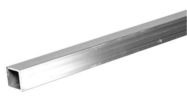 Hillman 3 Ft X 1 In Aluminum Plain Square Tube Metal Products Aluminum Square