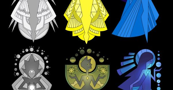 Steven universe diamond murals by darkprincess116 on for Yellow diamond mural