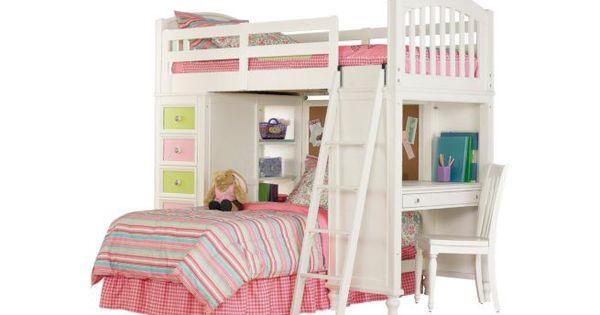 Pulaski Build A Bear Twin Loft Bed Bunk Beds For