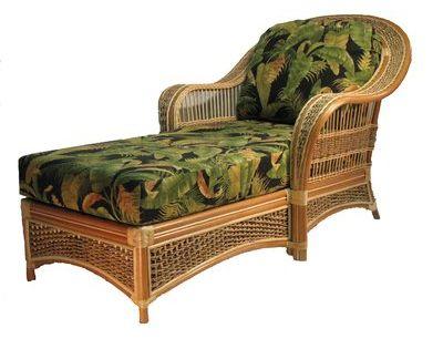 Spice Islands Wicker Chaise Lounge In 2019 Furniture Wicker