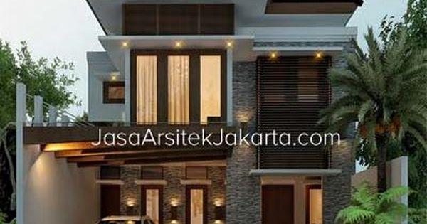 Desain Rumah 2 Lantai Luas Bangunan 117 M2 Bp Emir Lampung Desain Rumah Modern Desain Rumah Rumah