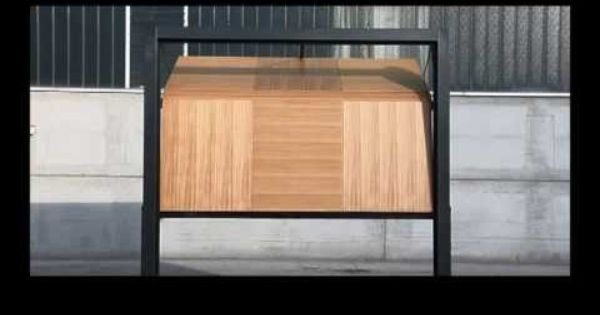Centurion Sectional Door Showing Taper From The Inside Sectional Door Garage Doors Garage Door Remote